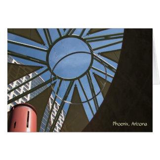 Card: City Sculpture (Landscape) Greeting Card
