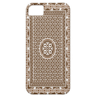 Card Deck (Brown) iPhone 5 Cover