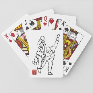 Card deck TAEKWONDO UNBALANCES