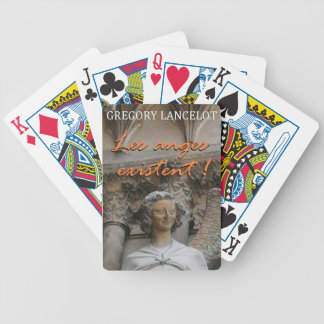 Card deck the angels exist! poker deck