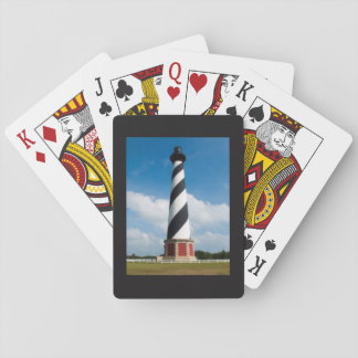 Card deck with a lighthouse playing cards