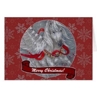 Card - Decorative Holiday Pegasus