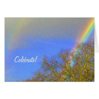 Card - Double Rainbow