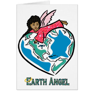 "Card: ""Earth Angel"" (b) Card"