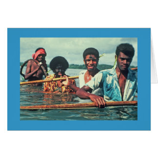 "Card, ""Fishing in Naivuruvuru"" Card"