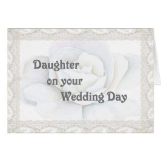 Card for Daughter on her Wedding Day