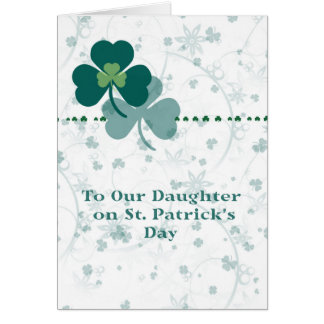 Card for Daughter on St. Patrick's Day