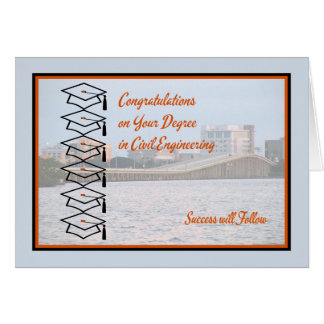 Card for Degree in Civil Engineering