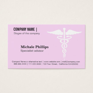 CARD FOR MEDICAL CLINICAL HOSPITAL DOCTOR ROSA