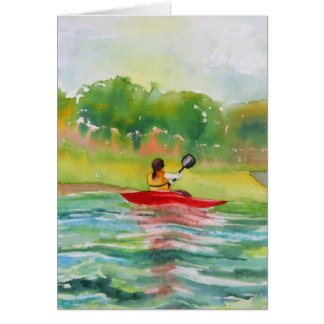 Card For the kayak Lover
