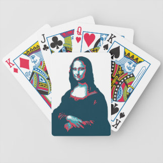 Card Game Mona Lisa Bicycle Playing Cards