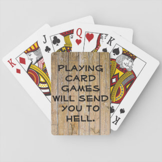 Card Games Hell Deck Playing Cards