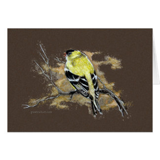 Card - Goldfinch