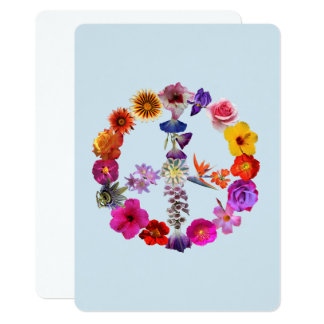 Card heart made photographs of flowers