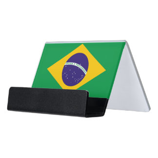 Card Holder with flag of Brazil
