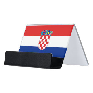 Card Holder with flag of Croatia