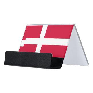 Card Holder with flag of Denmark