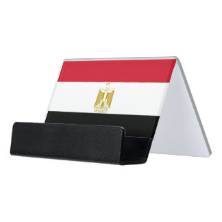 Card Holder with flag of Egypt