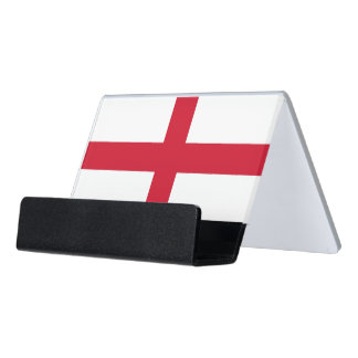 Card Holder with flag of England