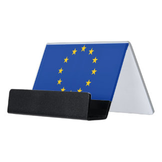 Card Holder with flag of European Union