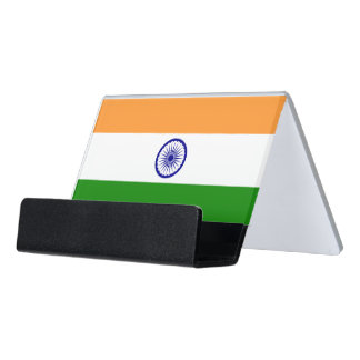 Card Holder with flag of India