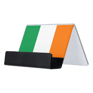 Card Holder with flag of Ireland