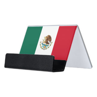 Card Holder with flag of Mexico
