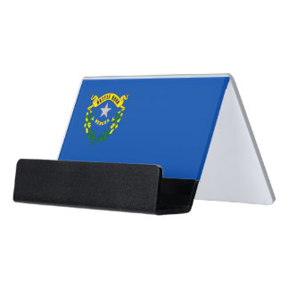 Card Holder with flag of Nevada State, USA