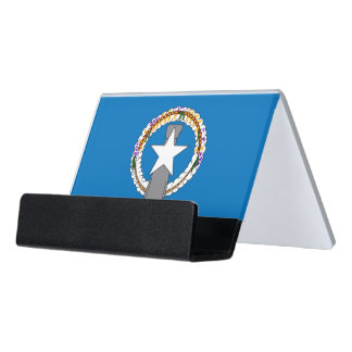 Card Holder with flag of Northern Mariana Islands
