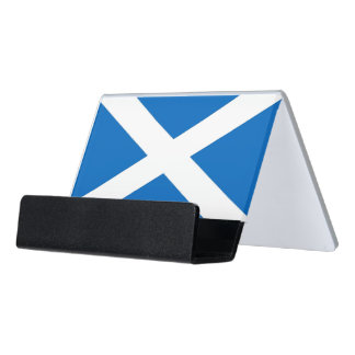 Card Holder with flag of Scotland