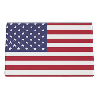 Card Holder with flag of United States of America