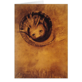 "Card/Invitation: ""The Chimera"" by Odilon Redon Card"