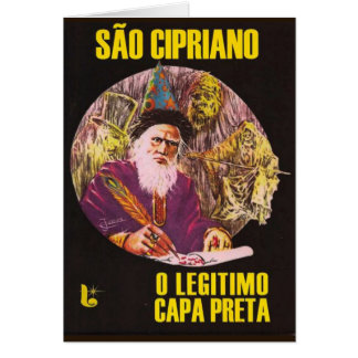"Card ""Is Cipriano (the legitimate black layer) """