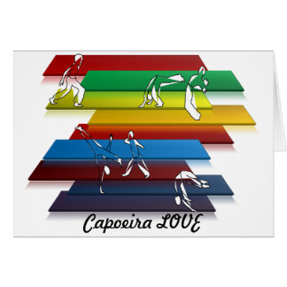 card martial arts capoeira love axe