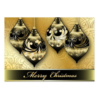 Card Merry Christmas Pack Of Chubby Business Cards