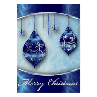Card Merry Christmas Large Business Cards (Pack Of 100)