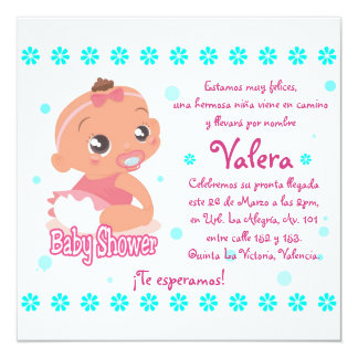 Card of Baby Shower