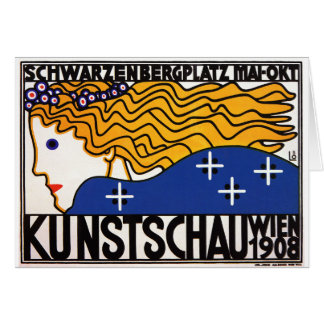Card or Invitiation: Kunstschau Wien (Art Show)