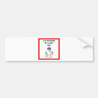 card player bumper sticker