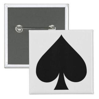 Card Player buttons - Spade