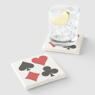 Card Player coaster