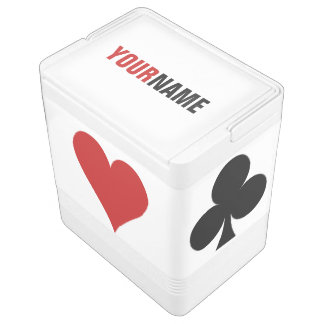 Card Player custom cooler