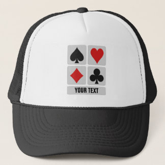 Card Player custom hats