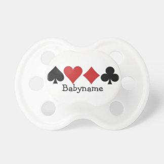 Card Player custom pacifier