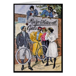 Card: Ruge Whitworth Cycles - Vintage Bicycles Card