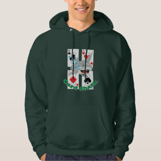 Card Shark Aces Poker Card Suits Hoodie