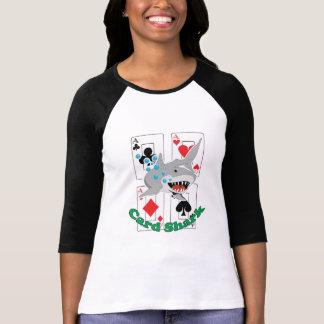 Card Shark Aces Poker Cards T-Shirt