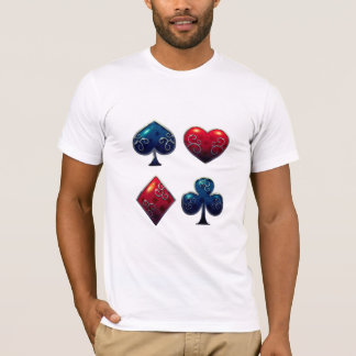 Card Shark Poker Gambler T-Shirt