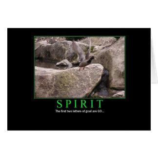 Card: Spirit - fly - goal: GO! Card