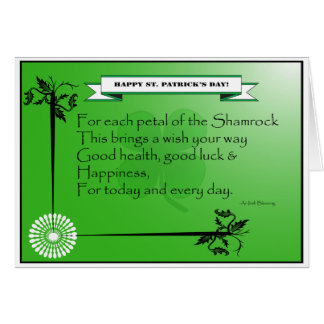 Card_St. Patrick's Day Greeting Card